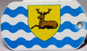 Hertfordshire County Flag Tag
